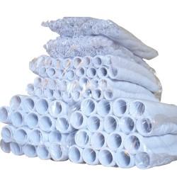 Espirales plásticos blancos